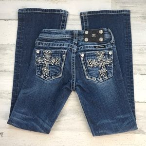Miss Me jeans boot cut size 7